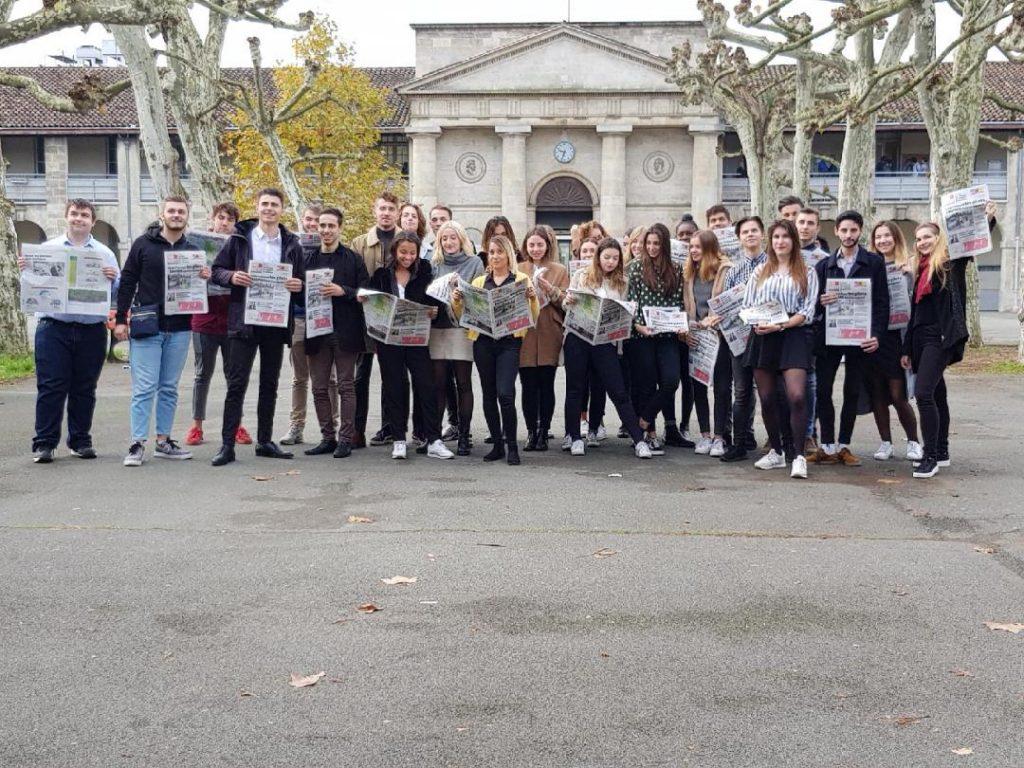 Raid Sud Ouest des étudiants NDRC du lycée Gustave Eiffel